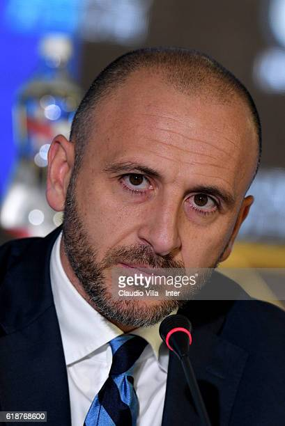 Chief Sport Officer Piero Ausilio attends FC Internazionale Shareholder's Meeting on October 28 2016 in Milan Italy