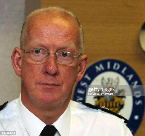 Chief Sup Keith Baldwin during a press conference in Wolverhampton after a police officer was in hospital today after he was seriously injured in a...
