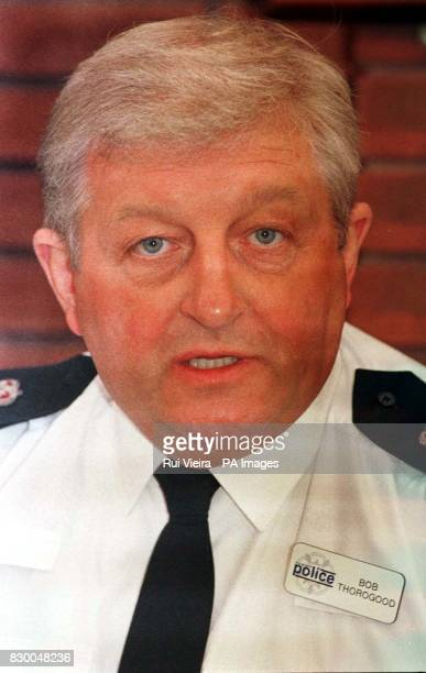 Chief Superintendent Bob Thorogood Commander of the Northampton Area during a news conference today following the discovery of a body in a lake...