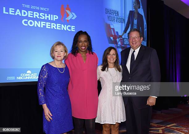 Chief Talent Development Officer SVP of Comcast Martha Soehren Olympic Gold Medalist for Track and Field Jackie JoynerKersee President CEO of WICT...