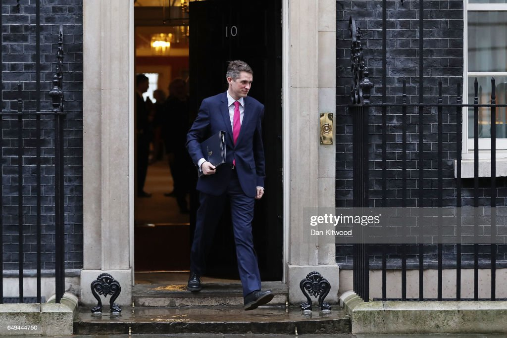 Government Ministers Attend Pre-Budget Cabinet