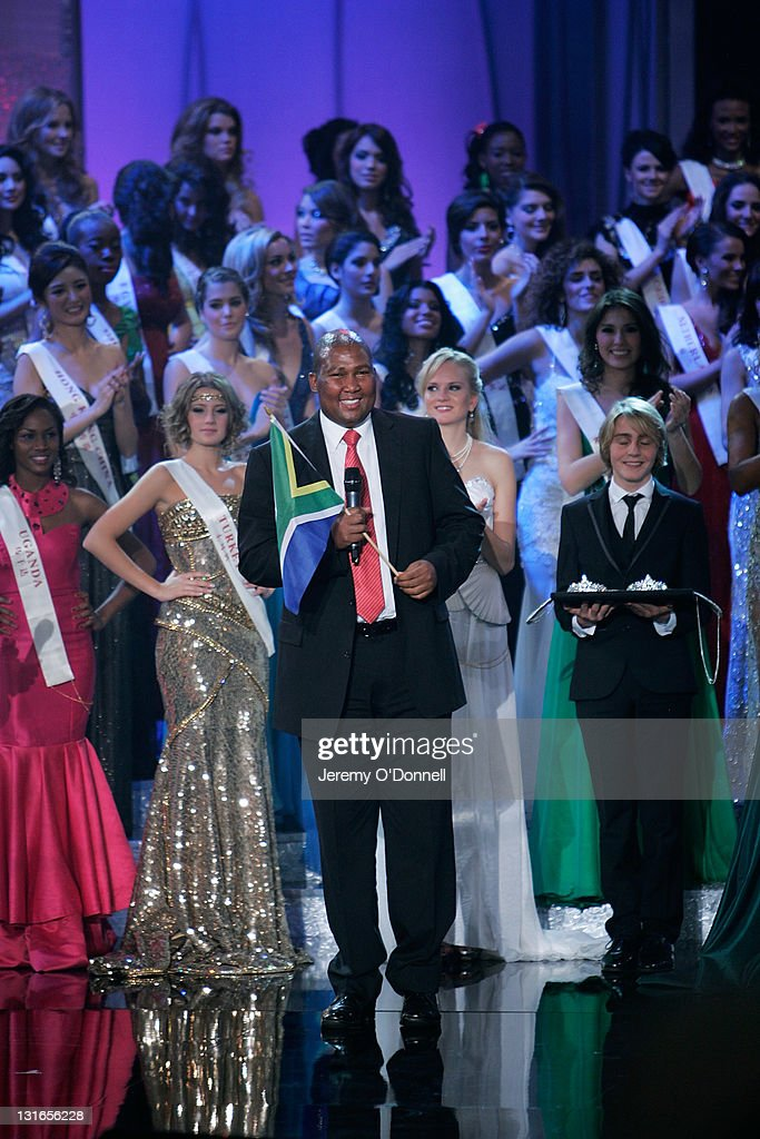 Chief Zwelivelile Mandela attends the Miss world 2011 World Final on November 6, 2011 in London, England.