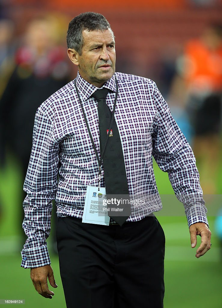 Chiefs assistant coach Wayne Smith before the round three Super Rugby match between the Chiefs and the Cheetahs at Waikato Stadium on March 2, 2013 in Hamilton, New Zealand.