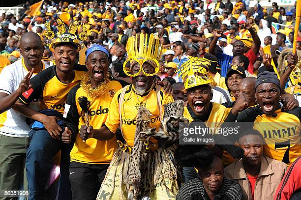Chiefs fans during the Absa Premiership match between Orlando Pirates and Kaizer Chiefs from Coca Cola Park on May 2 2009 in Johannesburg South Africa
