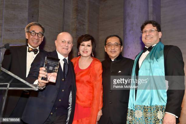 Chien Chung Pei Ronald Perelman YueSai Kan Silas Chou and James Heimowitz attend China Institute 2017 Blue Cloud Gala at Cipriani 25 Broadway on...