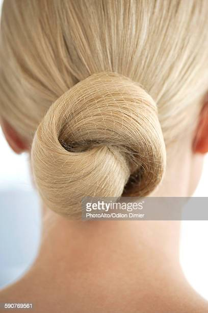 Chignon, close-up