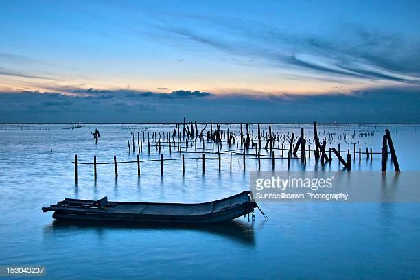 Chigu at blue dusk
