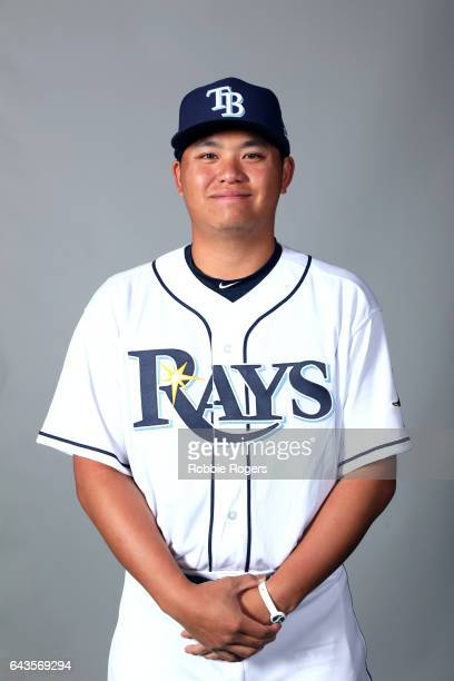 ChihWei Hu of the Tampa Bay Rays poses during Photo Day on Saturday February 18 2017 at Charlotte Sports Park in Port Charlotte Florida