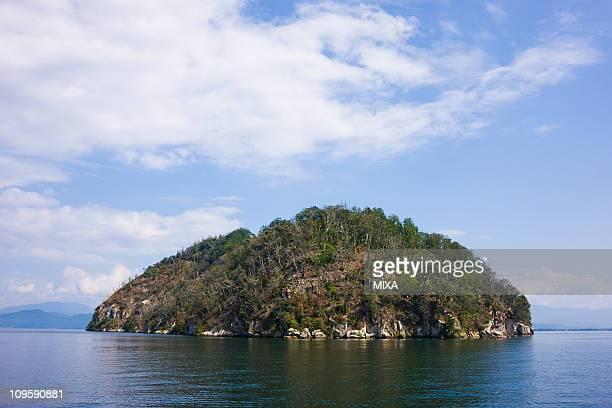 Chikubu Island and Lake Biwa, Nagahama, Shiga, Japan