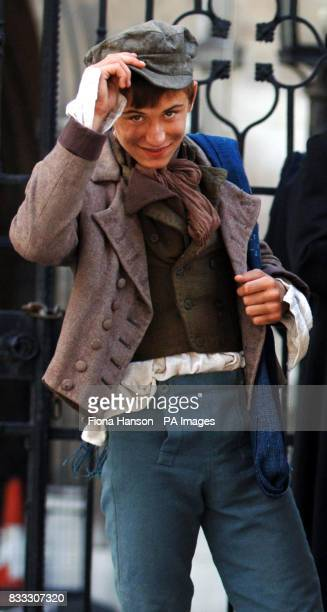 A child actor onset for filming of his role in a BBC production of Oliver Twist scheduled for later this year outside the High Court in central...