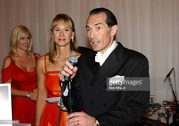 Child advocate Cheryl Saban and MGM chairman and CEO Alex Yemenidjian Gala producer Giselle FernandezFarrand and John Paul DeJoria with his wife in...