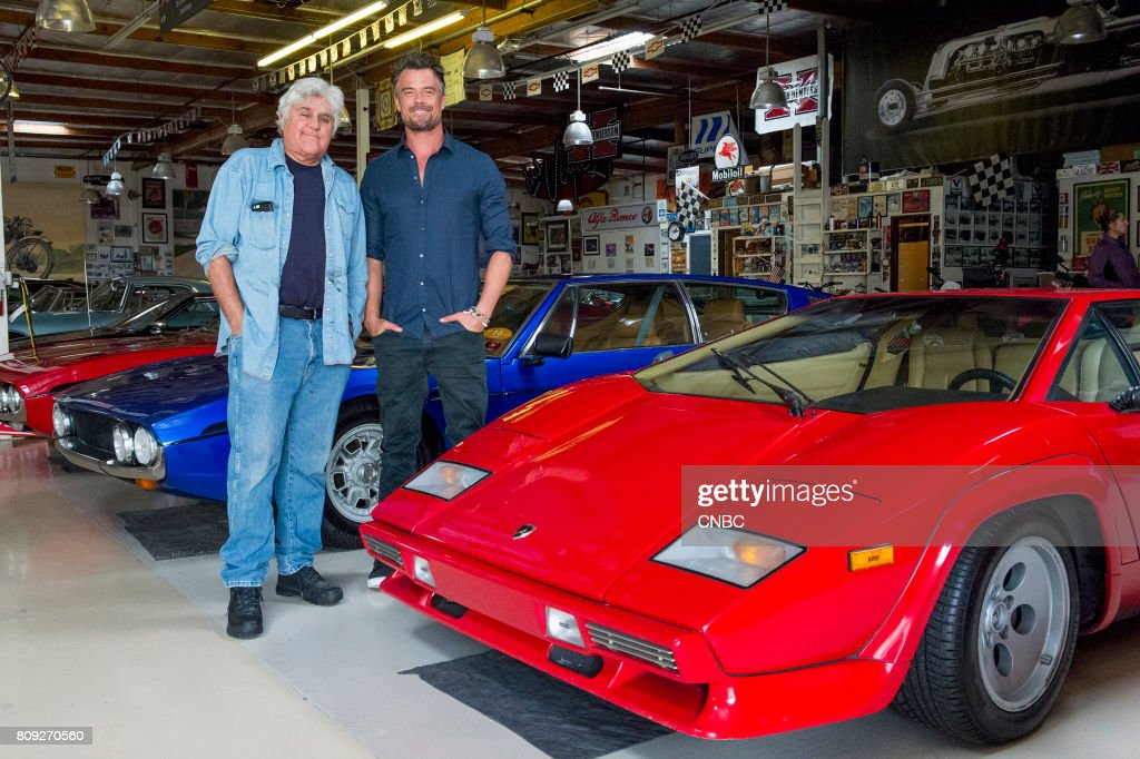 S GARAGE -- 'Child At Heart' -- Episode 306 --Pictured: (l-r) Jay Leno, Josh Duhamel --