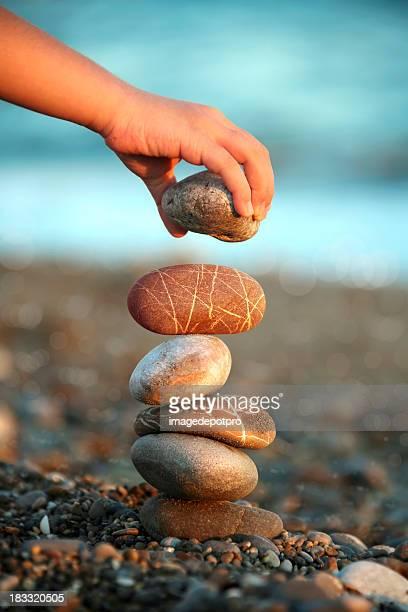 child balance stones