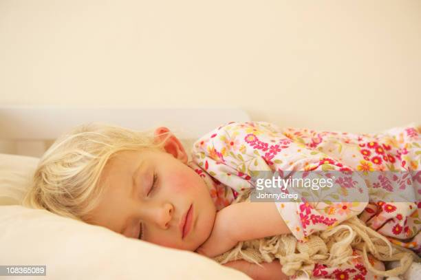Child blissfully asleep