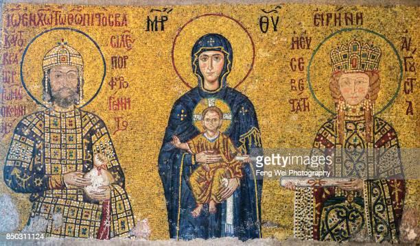 Child Christ & Virgin Mary, Hagia Sophia, Istanbul, Turkey
