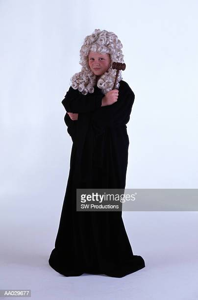 Child Dressed as a Judge
