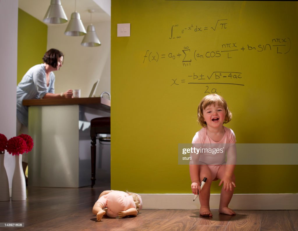 child genius : Stock Photo