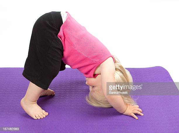 Child Girl Yoga Pose