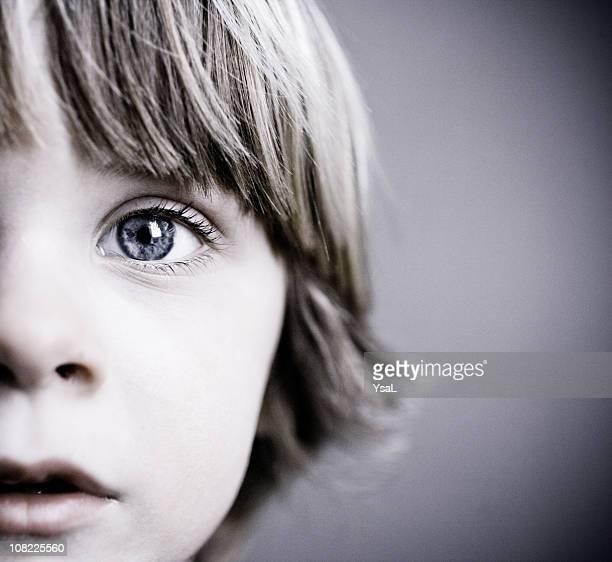 Child Half face