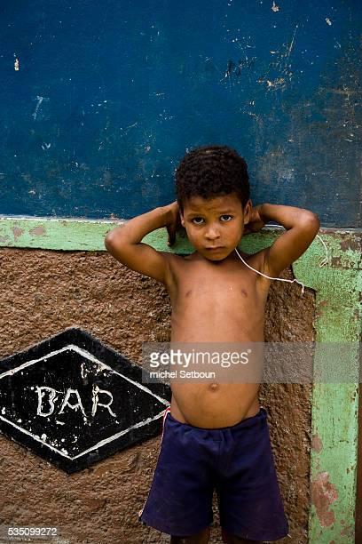 Child in Mosteiros village on Fogo Island