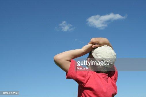 Child in summertime : Stock Photo