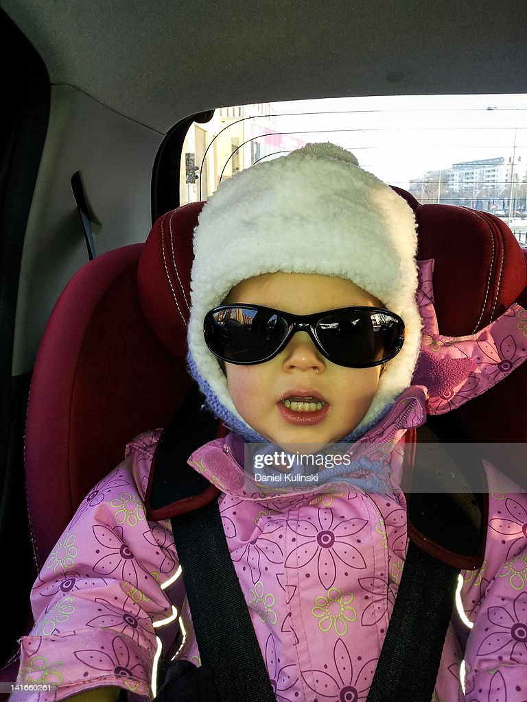Child in sunglasses : Stock Photo