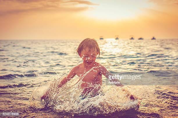 お子様には、海の