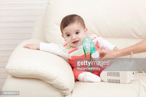 Child inhalation.