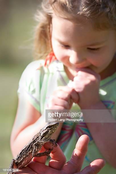 Child introduced to Australian wildlife