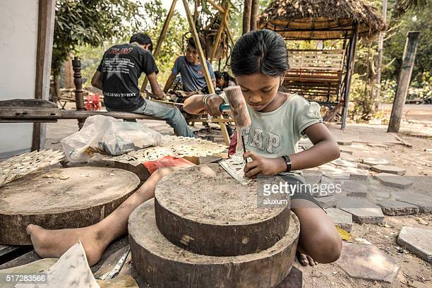 Child labour Cambodia
