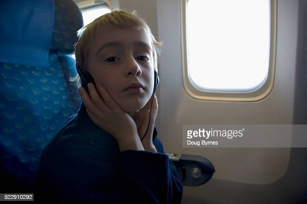 Child on an Airplane