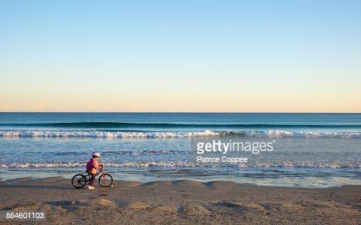 Child on beach (Provence - france)