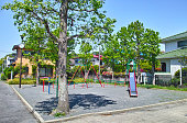Child park in residential area