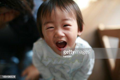 Child playing : Stock Photo
