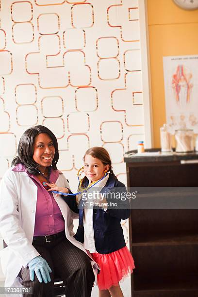 Child plays doctor