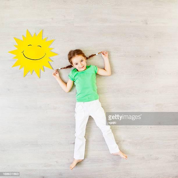お子様の太陽あふれる季節を表現します。
