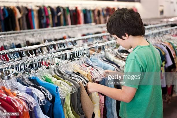 shopping bambino