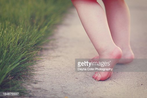 Child Toes : Stock Photo