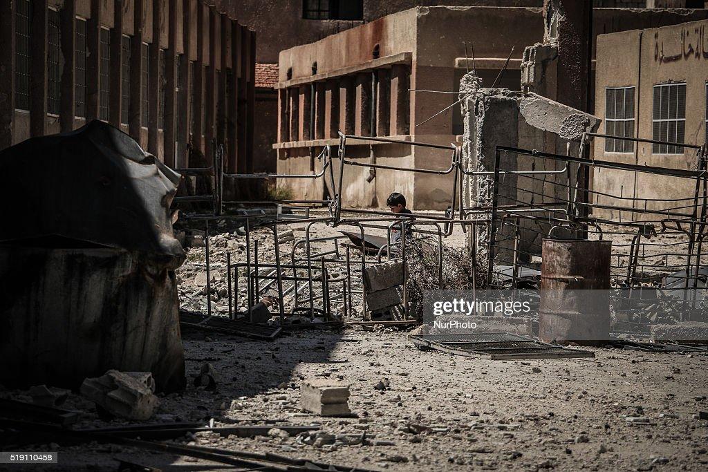 Image result for destruction ghouta syria
