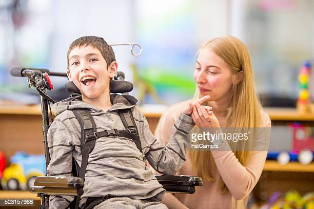 Child with a Physical Disability