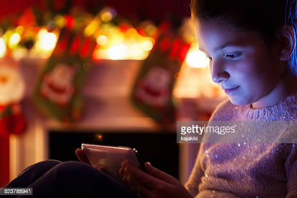 Child With a Tablet