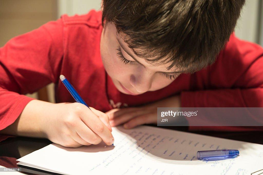 adhd handwriting help