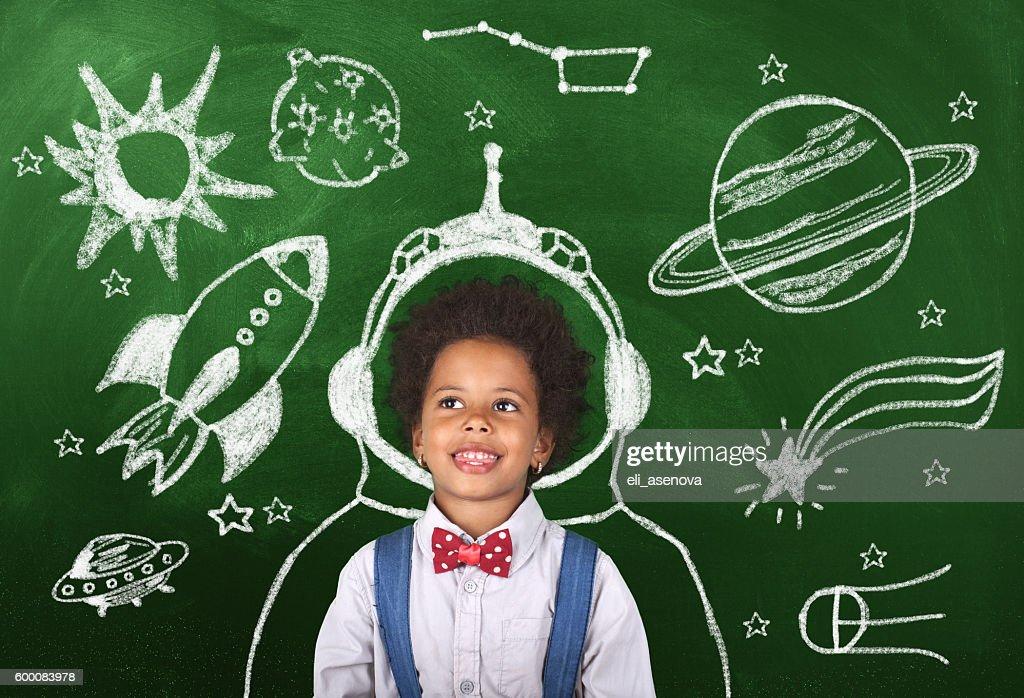 Immaginazione infanzia : Foto stock