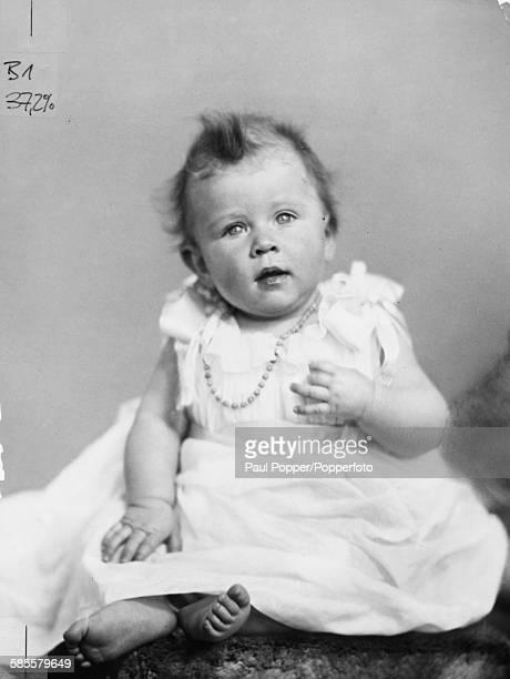 Childhood portrait of Princess Elizabeth future Queen Elizabeth II December 1926