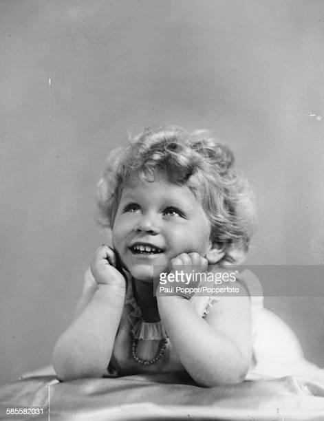 Childhood portrait of Queen Elizabeth II circa 1928