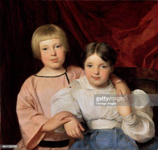 'Children' 1834 Waldmüller Ferdinand Georg Found in the collection of the State Hermitage St Petersburg