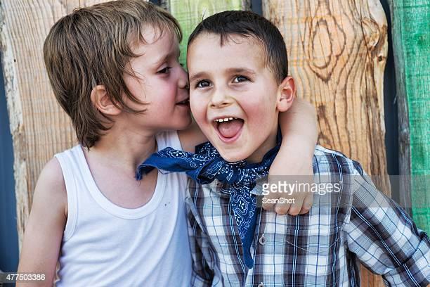 Kinder und die geheimen Idee