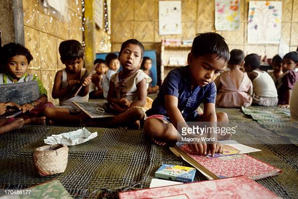 Children at a non formal primary school in Bangladesh Education is fundamental to the development of Bangladesh Among those who enter primary school...