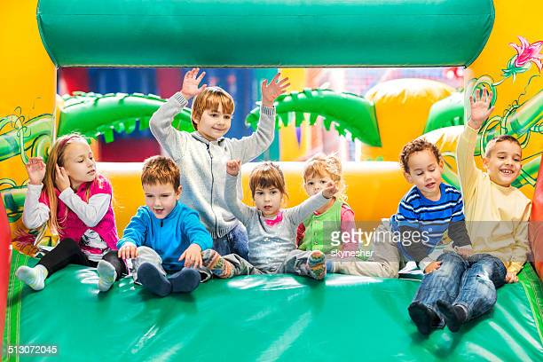 Children at playroom.