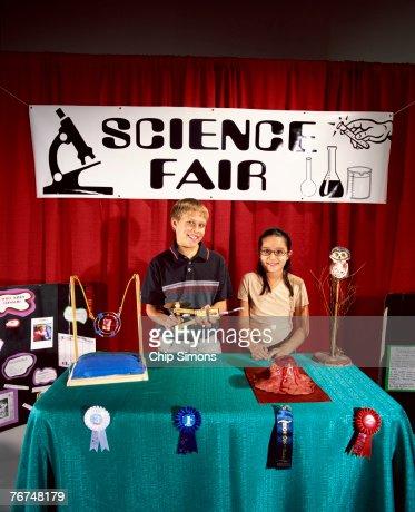 Children at science fair